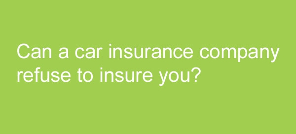 car insurance company refusing to ignore you