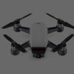 dji spark drone white colour