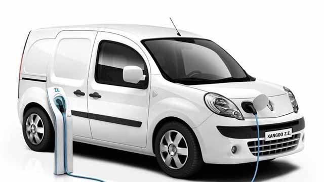 kangoo electric van