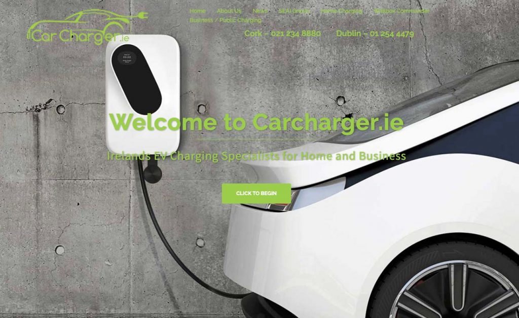 carcharger.ie EV charger installation