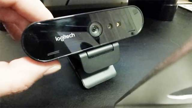 brio 4k webcam by logitech