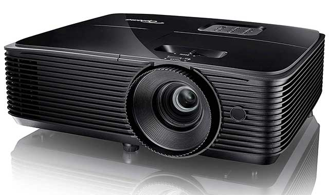Optoma HD144X outdoor projector