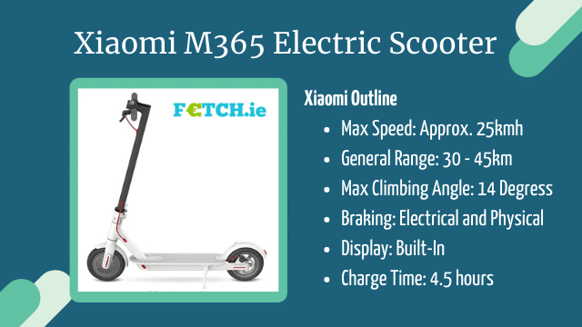 Xiaomi M365 e-scooter product description