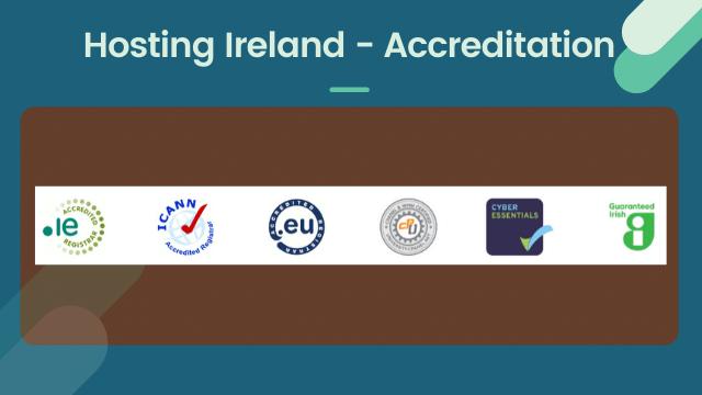 accreditation of hosting ireland