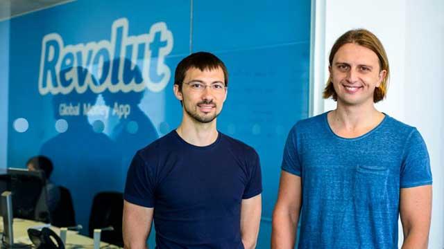 CEO Nikolay Storonsky and CTO Vlad Yatsenko from Revolut