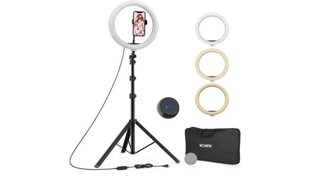 WONEW 12 INCHES RING LIGHT