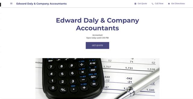 Edward Daly & Company Accountants
