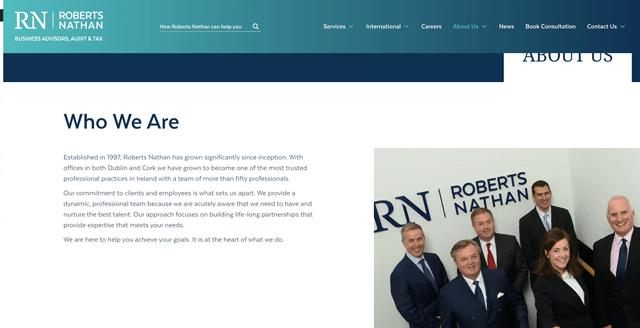 Roberts Nathan Accountants Cork