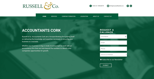 Russell & Co Accountants Cork