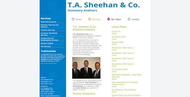 T.A. Sheehan & Co Statutory Auditors