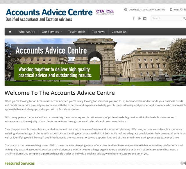 Accounts Advice Centre