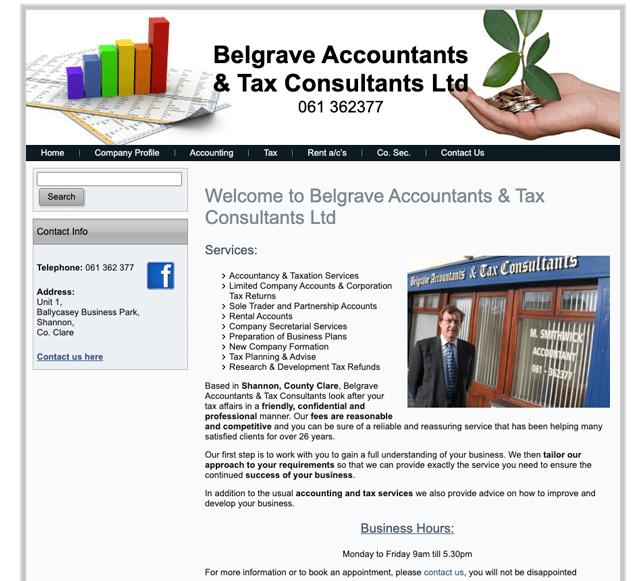 Belgrave Accountants & Tax Consultants Ltd Clare