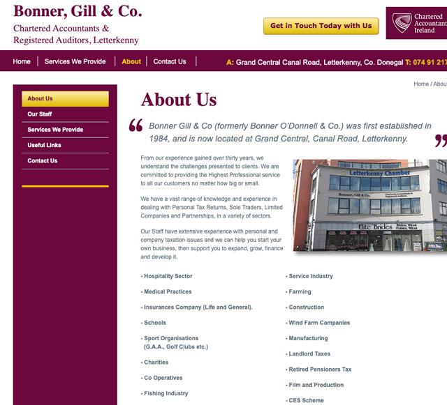 Bonner Gill & Co. Donegal