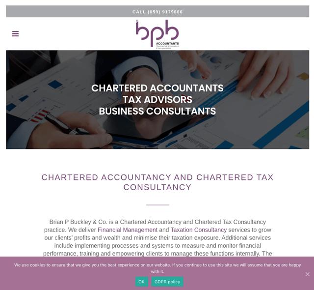 Brian P Buckley & Company Chartered Accountants Carlow