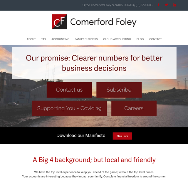 Comerford Foley Chartered Accountants