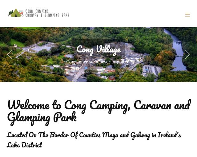 Cong Camping, Caravan & Glamping Park