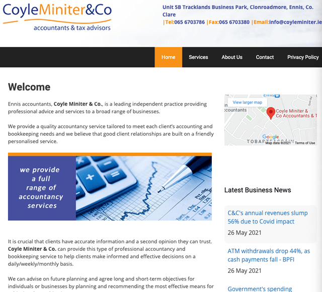 Coyle Miniter & Co Accountants & Tax Advisors Clare