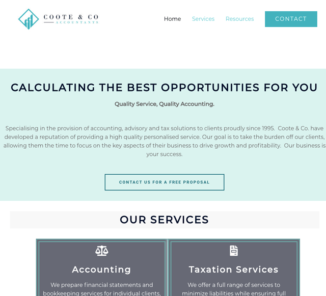 Declan Coote & Company Accountants Clare