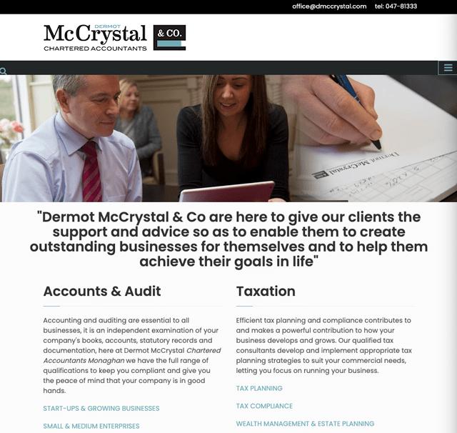 Dermot McCrystal & Co