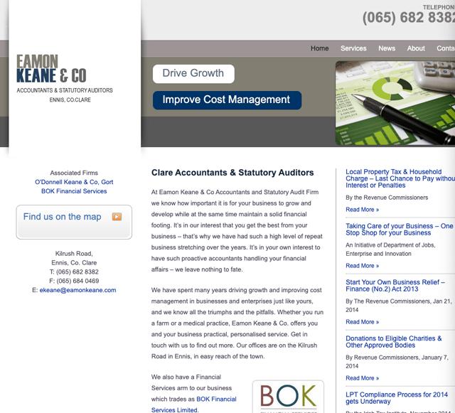 Eamon Keane & Company Accountants Clare