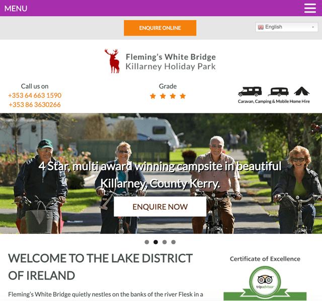 Fleming's White Bridge Caravan & Camping Killarney Holiday Park
