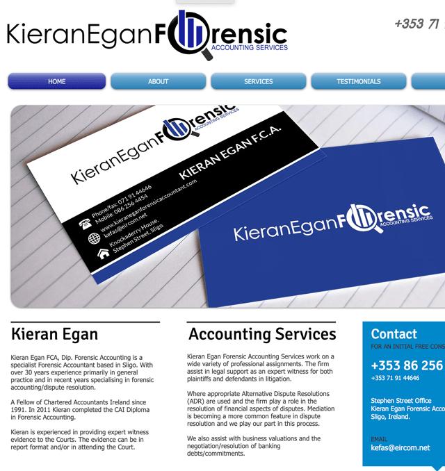 Kieran Egan Forensic Accounting Services