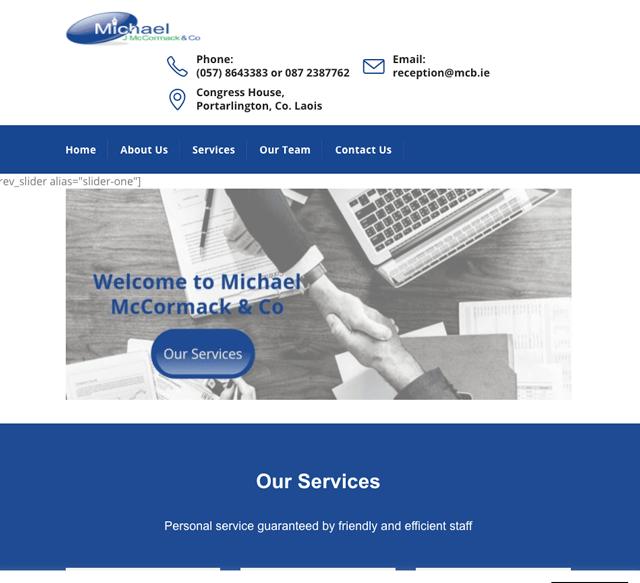 Michael J Mccormack & Co.