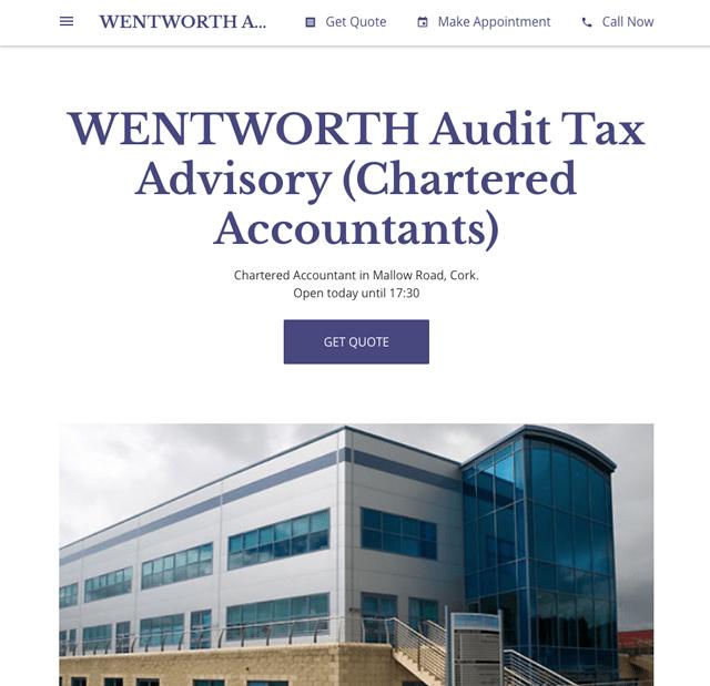 WENTWORTH Audit Tax Advisory Cork